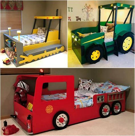 Diy Boys Bed Truck